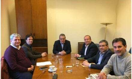 Συνάντηση εργασίας βουλευτών Ξάνθης  με τον Αναπληρωτή Υπουργό Περιβάλλοντος και Ενέργειας κ. Σωκράτη Φάμελλο και τους Δημάρχους Μύκης και Τοπείρου