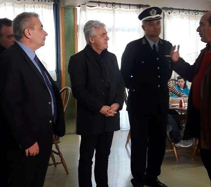Επίσκεψη της Συνδικαλιστικης Κίνησης Αστυνομικών Ξάνθης στο ΠΑΑ ΞΑΝΘΗΣ