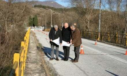 Ξεκινούν οι εργασίες υποστήλωσης στη γέφυρα του ποταμού Νέστου στο Παρανέστι Δράμας