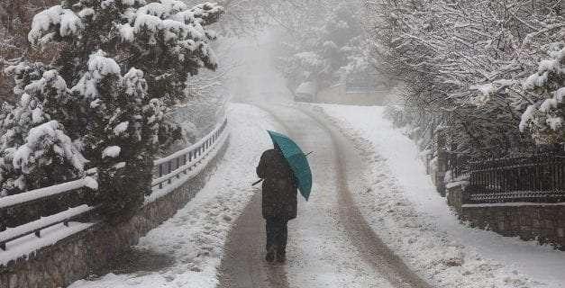 Ερχονται χιόνια; <br> <span style='color:#777;font-size:16px;'>Έκτακτο Δελτίο Επιδείνωσης Καιρού</span>