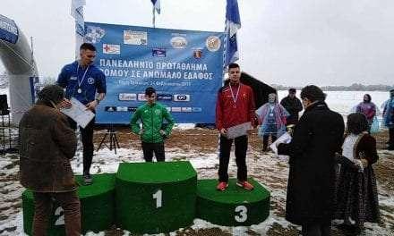 Ο νεαρός Ξανθιώτης Δημήτρης Συμεωνίδης  κατέκτησε χάλκινο μετάλλιο (Κ18)  στο Πανελλήνιο Πρωτάθλημα Ανωμάλου Δρόμου