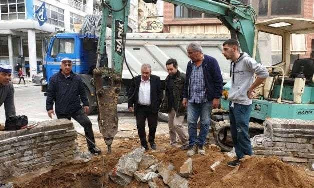 Αναβαθμίζεται το κέντρο της Ξάνθης με την τοποθέτηση υπόγειων κάδων νέας τεχνολογίας