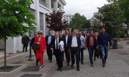Το ψηφοδέλτιο του συνδυασμού του κατέθεσε ο Χαράλαμπος Δημαρχόπουλος