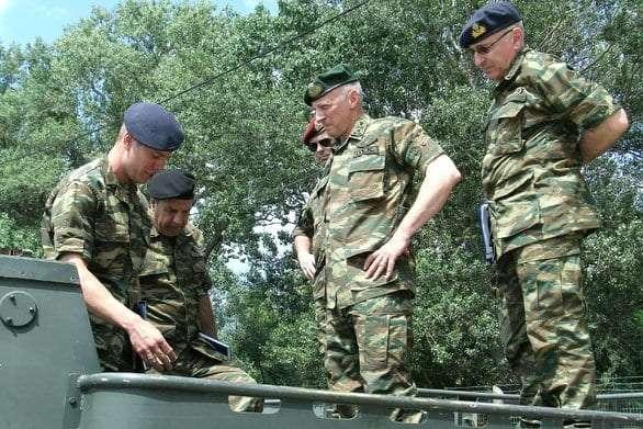 Επίσκεψη Γενικού Επιθεωρητή Στρατού στην Περιοχή Ευθύνης του Δ΄ΣΣ