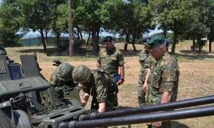 Επίσκεψη Γενικού Επιθεωρητή Στρατού στο Δ΄ΣΣ