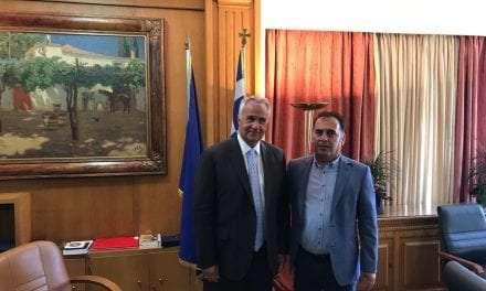 Συνάντηση του Βουλευτή Ν. Ξάνθης ΣπύρουΤσιλιγγίρη με τον ΥΠΑΑΤ Μάκη Βορίδη