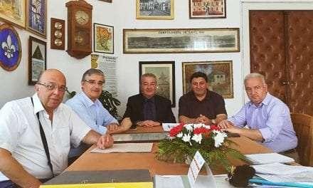 Τιμήθηκε ο Δήμαρχος Ξάνθης από το Δήμο Campulung Ρουμανίας