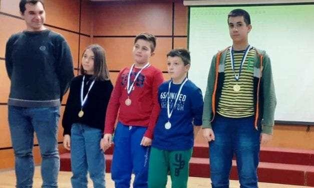 Επιτυχίες σκακιστών του ΣΟΞ στη Δράμα