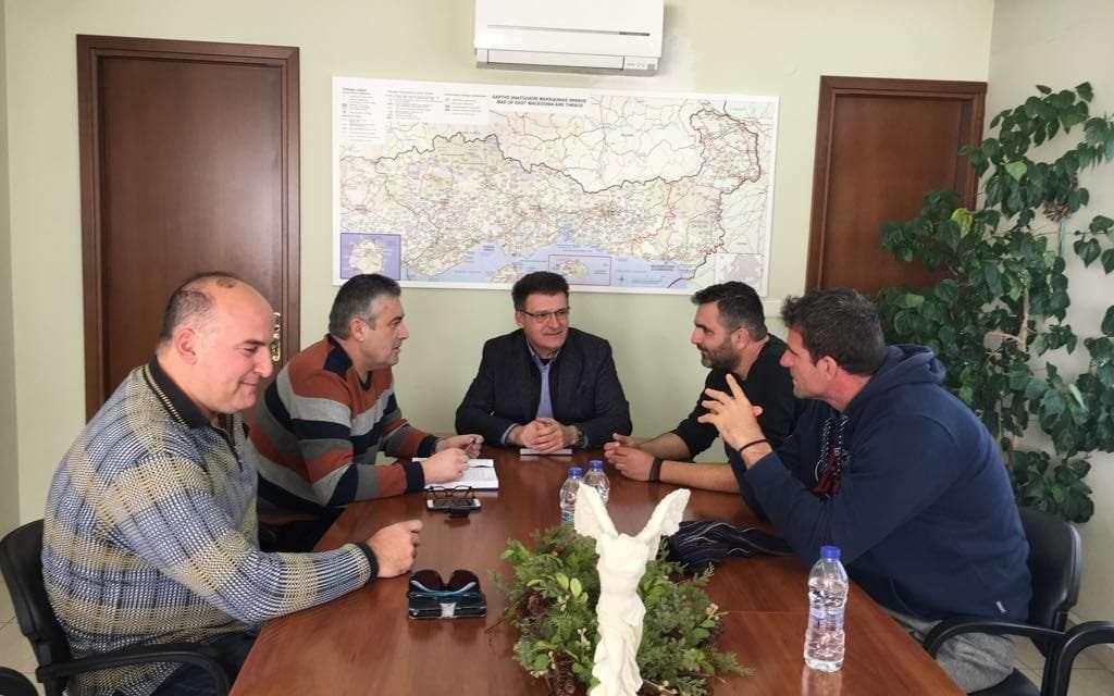 Συνάντηση του Αντιπεριφερειάρχη Εβρου με την Ένωση Συνοριακών Φυλάκων Ν. Έβρου