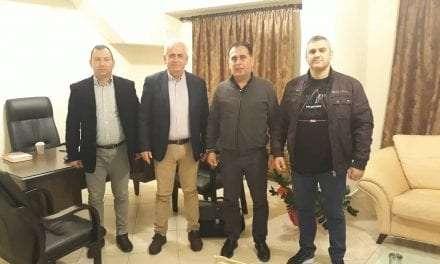 ΕΣΠΕΑΜ/Θ: Θεσμική Συνάντηση με τον Βουλευτή Ξάνθης της ΝΔ Κ. Σπύρο Τσιλιγγίρη