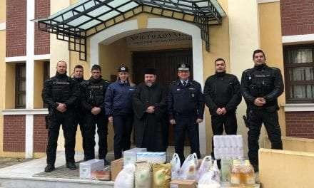 Κοινωνικές δράσεις της Ελληνικής Αστυνομίας στην Ανατολική Μακεδονία και τη Θράκη, κατά τις εορτές των Χριστουγέννων και του Νέου Έτους <br> <span style='color:#777;font-size:16px;'>Το προσωπικό των αστυνομικών Υπηρεσιών συγκέντρωσε είδη πρώτης ανάγκης και δώρα, τα οποία προσέφερε σε ιδρύματα και φορείς της περιφέρειας </span>