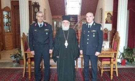 Εθιμοτυπικές επισκέψεις του νέου Γενικού Περιφερειακού Αστυνομικού Διευθυντή Ανατολικής Μακεδονίας και Θράκης σε Αρχές και θεσμικούς φορείς του νομού Ξάνθης