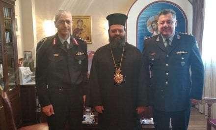 Εθιμοτυπικές επισκέψεις του νέου Γενικού Περιφερειακού Αστυνομικού Διευθυντή Ανατολικής Μακεδονίας και Θράκης σε Αρχές και θεσμικούς φορείς του νομού Ροδόπης