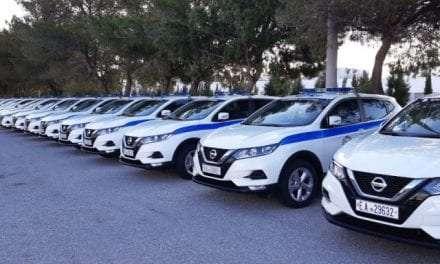 195 νέα οχήματα εντάχθηκαν στον στόλο της Ελληνικής Αστυνομίας