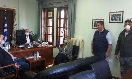 Επίσκεψη κλιμακίου Βουλευτών με επικεφαλής την κυρία Θεοδώρα Αυγέρη στο Δήμο Τοπείρου
