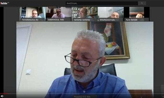 Συνεδρίαση δημοτικού συμβουλίου μέσω τηλεδιάσκεψης