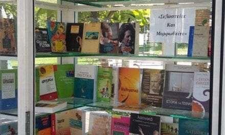 Φωλιά Βιβλίου  Κεντρικής Πλατείας <br> <span style='color:#777;font-size:16px;'>«Στυλώνοντας το Μάτι στην Μπόρα»</span>