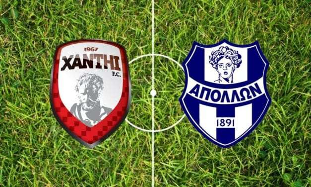 XANTHI FC – ΑΠΟΛΛΩΝ ΣΜΥΡΝΗΣ 0-1