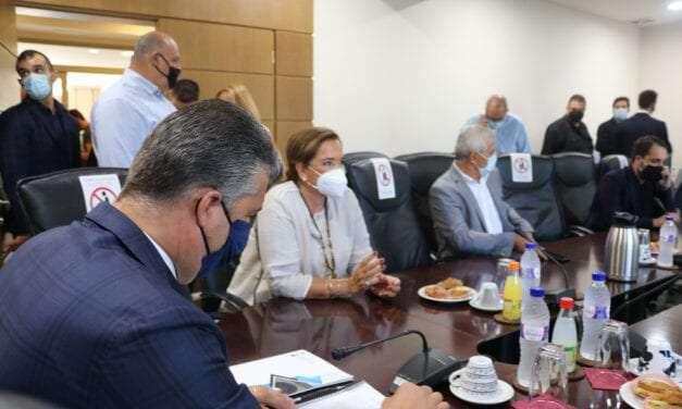 Επίσκεψη Προέδρου της Διακομματικής Επιτροπής για την Ανάπτυξη της Θράκης Ντόρας Μπακογιάννη στο Επιμελητήριο του Έβρου