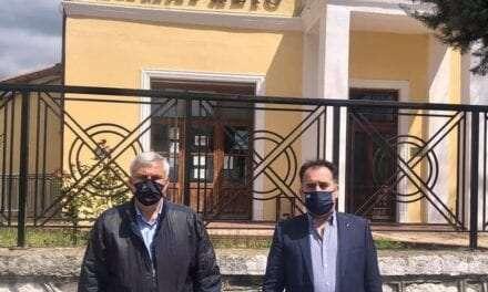 Επίσκεψη του βουλευτή Ξάνθης Σπύρου Τσιλιγγίρη στη Σταυρούπολη και στο Κέντρο Υγειας