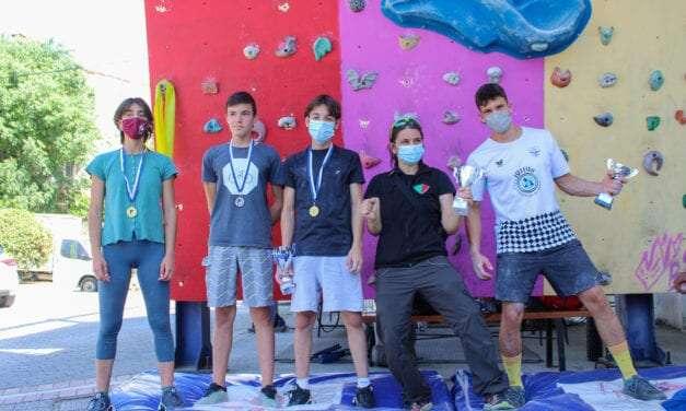 Διακρίσεις της ομάδας αγωνιστικής αναρρίχησης του ΕΟΣ Ξάνθης