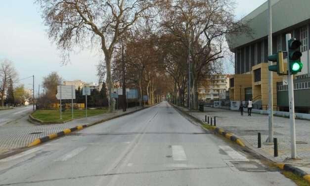 """Σπανίδης: """"Ρώσικη ρουλέτα"""" οι σβησμένες διαγραμμίσεις για τους μαθητές στην περιοχή του αθλητικού κέντρου""""Φίλιππος Αμοιρίδης"""""""""""